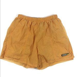 Speedo Men's Yellow Vintage Swim Trunks